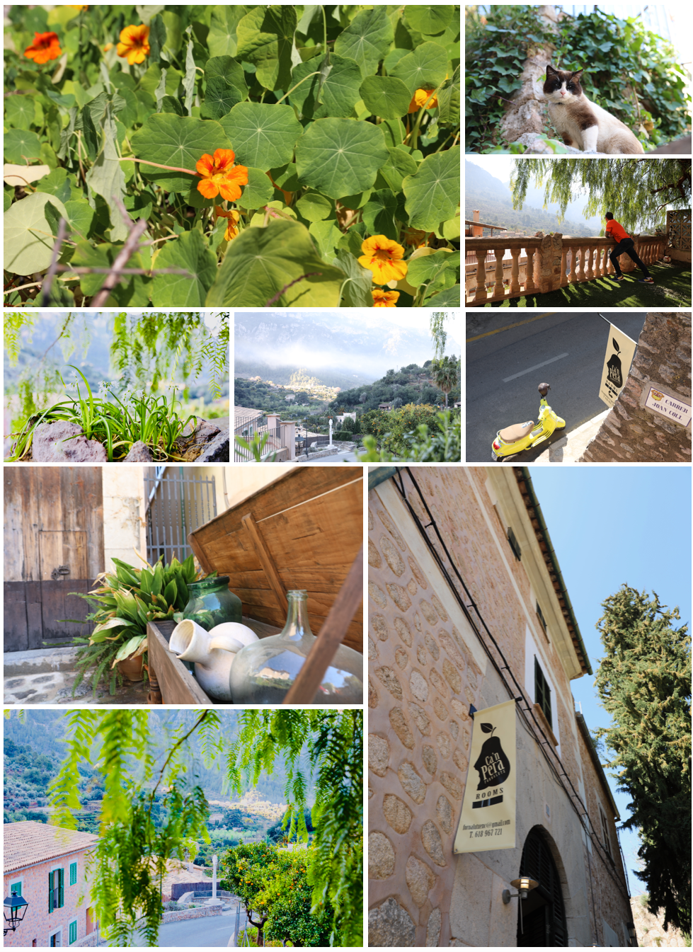 Photo Collage with Link to Ca'n Pera Village House